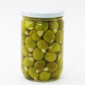 Green olive Stuffed With Almonds – 0.6- Kg –
